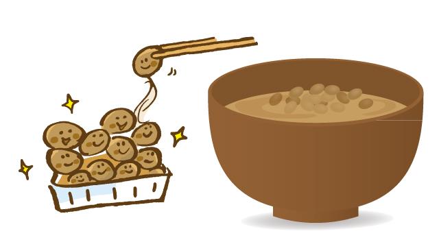 みそ汁と納豆