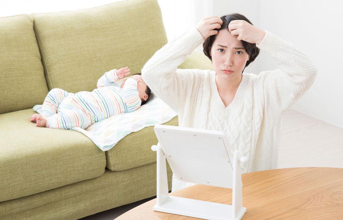 もう悩まない!産後の抜け毛の正しい対処法